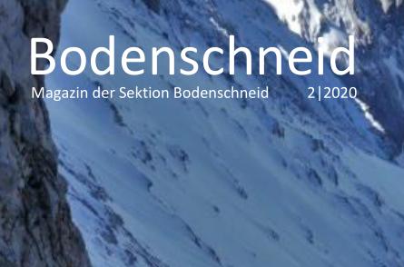 Artikelbild zu Artikel Das Sektionsheft für den Winter 2020/21 ist da!